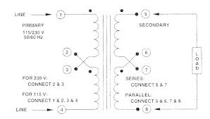 item f 215u, chassis mount power control transformers on triad transformer equation at Transformer Schematic