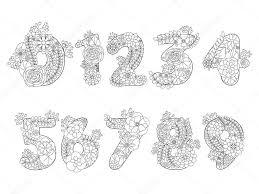25 Ontwerp Met Cijfers Kleurplaat Mandala Kleurplaat Voor Kinderen