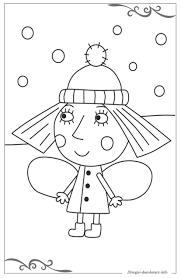 Il Piccolo Regno Di Ben E Holly Disegni Per Bambini Da Colorare
