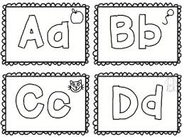 This kids coloring video is also visually bright and stimulating for babies and toddlers that can't draw this picture yet! Alphabet Coloring Flash Cards Freebie By Drrichardson Tpt