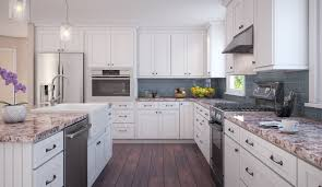 white shaker cabinets with quartz countertops. soapstone countertops white shaker kitchen cabinets lighting flooring sink faucet island backsplash shaped tile glass mahogany wood espresso panel with quartz