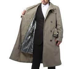 real used u s military u s m c u s marine corps trench coat with liner