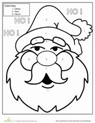 Our free coloring pages for adults and kids, range from star wars to mickey mouse. Kindergarten Color By Number Coloring Pages Printables Education Com