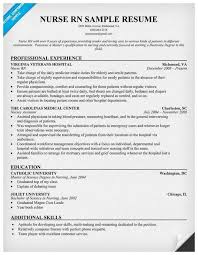 New Nurse Resume No Experience 73 Admirable Pics Of Rn Resume Examples Best Of Resume