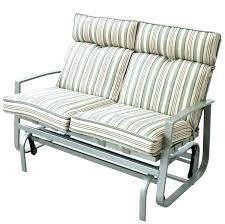 outdoor glider bench costco