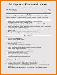 7 Resume Management Objective Bibliography Apa