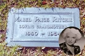 Mabel Paige (December 19, 1880 –... - Hollywood Page Of Death | Facebook