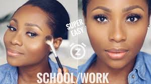 you can do this in 15 minutes easy everyday work makeup tutorial dimma umeh