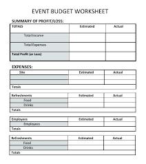 Sample Family Budget Plan Sample Budget Plan Template Business Budget Template Sample