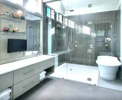 Decoration Bathroom Tub Shower Combo Master Bath Walk In Com Wet Room Small And Combinations