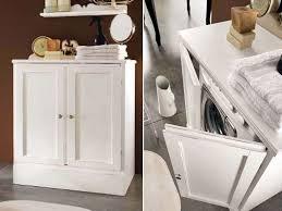 Zona Lavanderia In Bagno : Bagno con lavatrice nascosta lavanderia a