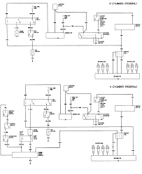 repair guides wiring diagrams wiring diagrams autozone com 2 engine control wiring diagram 1982 83 federal emissions