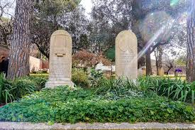 Famous Graves of the Non Catholic Cemetery Rome   The Hostel Girl The Hidden Beauty and Famous Graves of the Non Catholic Cemetery  Rome