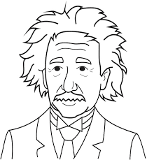 Small Picture Albert Einstein Coloring Pages For Adult Kids Coloring Pages