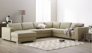 Check out this huge 6 seater modular sofa lounge in light mocha with chaise  made in a genuine leather. Unbeatable value.
