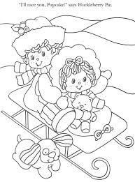 strawberry shortcake coloring pages colouring to print pag of post