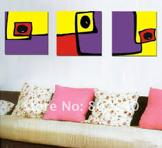 yellow office decor. Free Shipping Fashion Painting Abstract Oil On Canvas High Quality Handmade Modern Office Decor Home Wall Art Yellow