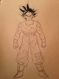 28 Collection Of Dragon Ball Super Coloring Pages Ultra Instinct