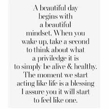 Quote About A Beautiful Day
