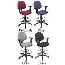 office drafting chair. Boss Contoured Comfort Drafting Chair With Arms Office Drafting Chair