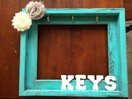 picture frame key rack key holder out of a picture frame moving out dorm  and craft . picture frame key rack ...