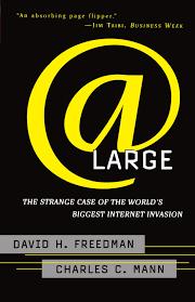 at large the strange case of the world s biggest internet invasion david h freedman charles c mann 9780684835587 amazon books