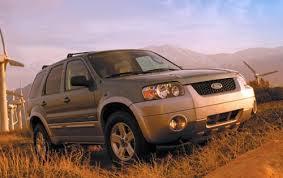 2007 Ford Escape Hybrid Tire Size Specs View Manufacturer Details