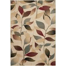 leaf pattern area rugs exceptional leaves for floor decoration interior design 20