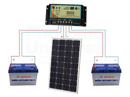 12v solar panels charging kits for caravans motorhomes boats connection diagram for 100w 12v photonic universe dual battery solar charging kit