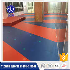 green and environmental plastic floor gym sport