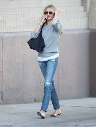 77 best Fashionable Friends images on Pinterest | Ballet flat ... & Cameron Diaz wears her nude leather and black toe cap ballerina shoes by French  Sole. Adamdwight.com