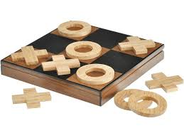 Making Wooden Games luxury noughts and crosses set polished wood noughts and crosses 68