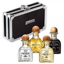 patron tequila miniature gift set
