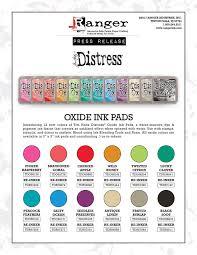 Distress Ink Color Chart 2017 12 New Distress Oxide Colors Tim Holtz
