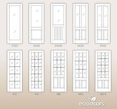 interior glass doors. Custom Interior MDF Doors - ECCO DOORS Glass