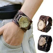 Popular Men <b>Bracelet</b> with Watch Leather Cuffs-Buy Cheap Men ...