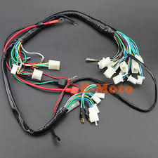 bike wiring harness wiring diagram site electric start wiring harness wire loom pit bike atv quads 50 70 90 car wiring diagrams bike wiring harness