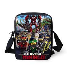2019 детская мультяшная мини-сумка <b>Lego Ninjago</b>, Железный ...