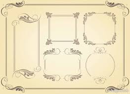 Free Simple Beautiful Borders For Projects On Paper