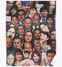 The office posters Michael Scott The Office Collage Poster Redbubble The Office Posters Redbubble