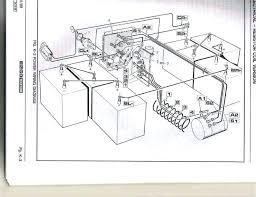 electric club car wiring diagram 1989 old club car electrical 1989 club car 36 volt wiring diagram ds gas golf cart unique