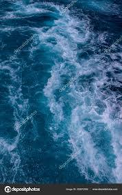 Ocean Surface Sea Foam Blue Ocean Background More Options