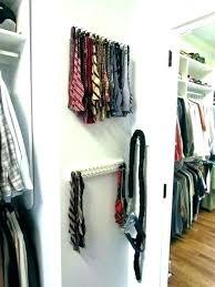 motorized tie rack wall mount racks for closets organizers closet astonishing sharper image ra satisfaction guaranteed motorized tie rack for wire closet
