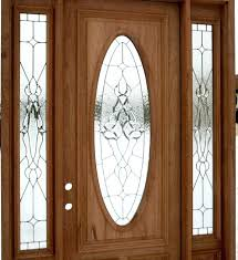 front door inserts decorative