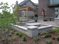 concrete patio with square fire pit. Best Of Concrete Patio Ideas With Fire Pit This Sunken Square Mimics The E