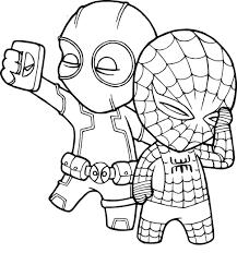 Tuyển tập tranh tô màu người nhện dũng mãnh, anh hùng - Chia sẻ 24h
