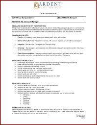 Resume Objective For Hotel Industry Hospitality Resume Objective Examples Chef Of Resumes For Industry 3