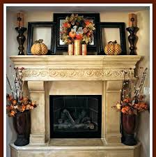 candles for fireplace mantel fireplace candle decor brick rustic mantel decor for classic fireplace with frame
