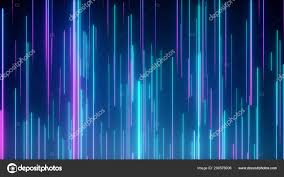 Neon Light Spectrum Abstract Directional Neon Lines Geometric Background Data