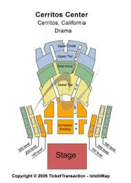 Cerritos Center Tickets And Cerritos Center Seating Chart